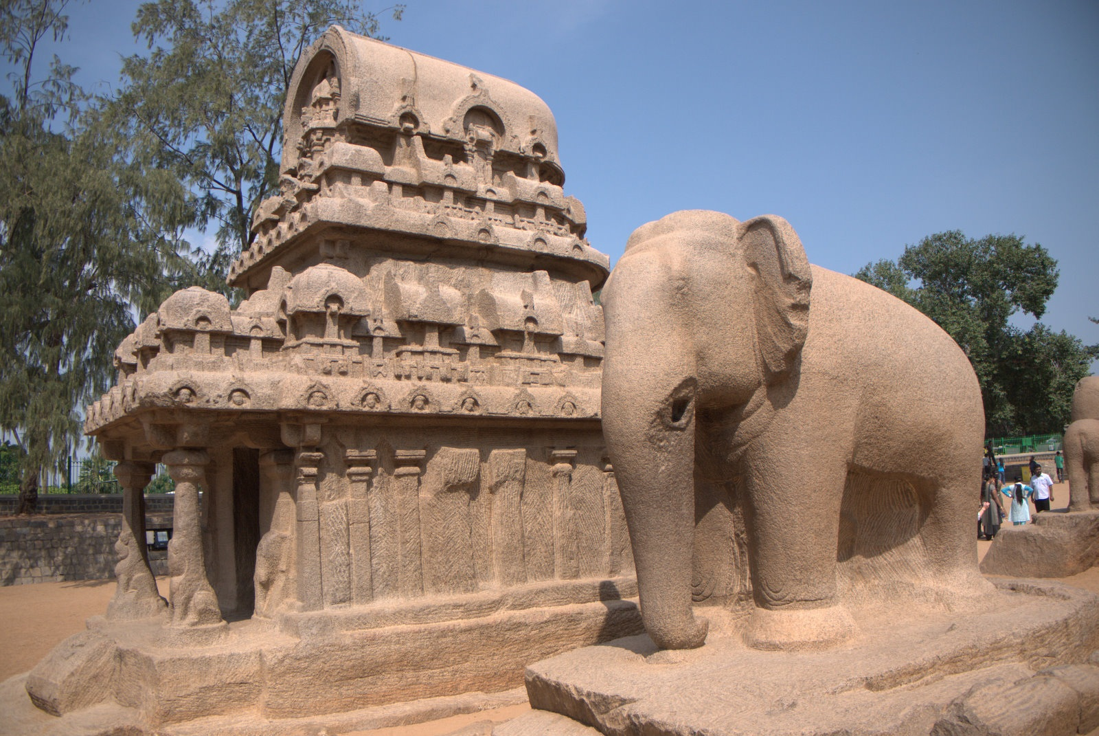 Mahabalipuram stone sculptures royal leisure tours