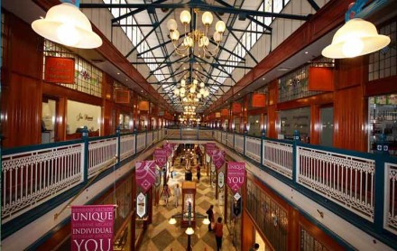 Heritage listed Brisbane arcade