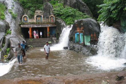 The divine Kalhatty Waterfalls