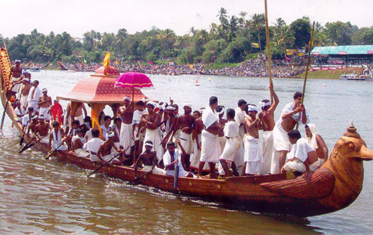 Aranmula Boat Race And Onam Celebrations 2016 Royal